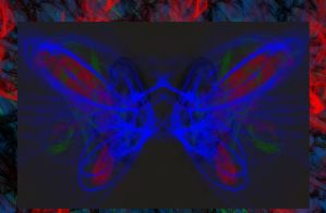 Cosmic Butterfly. by NRoberts93