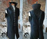 Porthos Leather vest by Feral-Workshop