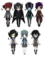 (CLOSED) Mixed Adopts by Gothamed