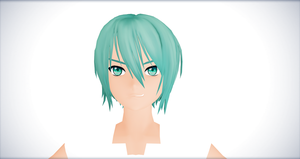 MMD-WIP-MIKUO by Hikary1