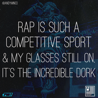 Rap Is Such A Competitive Sport by Crazed-Artist