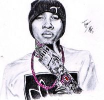 Tyga by Born2Art