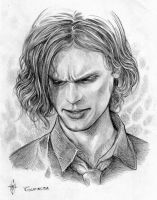 Spencer Reid 02 - remake by whiteshaix