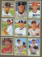 UpperDeck 2003 Playball cards by Paluso4art