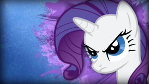 Rarity Wallpaper by TwopennyPenguin
