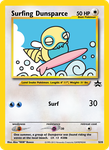 Surfing Dunsparce Jumbo Card by icycatelf