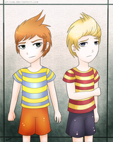 Lucas and Claus by Aticum