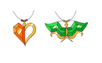 HS - Dirk and Jake amulet designs by ChibiEdo