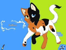 Halfface by Wanderisawesome