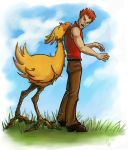 Chocobos Luv Charlie by The-Starhorse