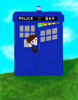 The Doctor and his Tardis -Redraw- by kuranszo