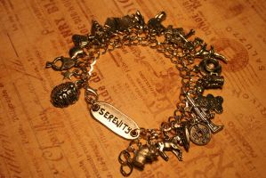 Serenity Charm Bracelet by turnerstokens