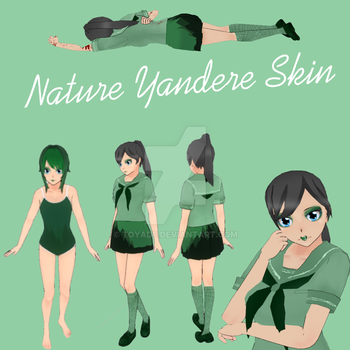 Nature Yandere Skin by toyadf
