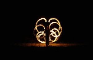Fire poi 2 by Cleniver