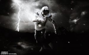 LaDainian Tomlinson | Charged Up | Wallpaper by ClydeGraffix