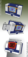 Soundwave: USB flash drive - Concept Art by nadav
