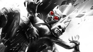 Batman Arkham City - Catwoman n Batman - wallpaper by thecatkat