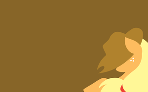 MLP:FIM Applejack Wallpaper by Moustache147