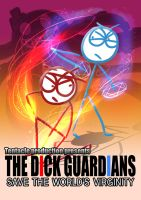 Dick figures movie poster: The dick guardians by Puyo0702
