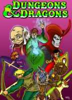 PUMMEL Dungeons and Dragons by Dreekzilla