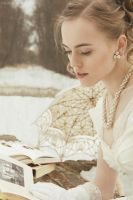 Being Absorbed In An Old Book by ksushiks