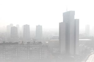 Zagreb in the fog by VillyVilly