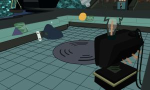 Lair with tv background by TurtleChix