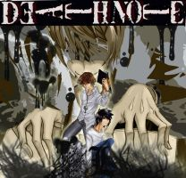 wallpaper death note by anbukakashi07