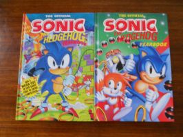 Sonic the Hedgehog Yearbooks by BoomSonic514