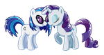Commission 29 Rarity X Vinyl by AngieR3741