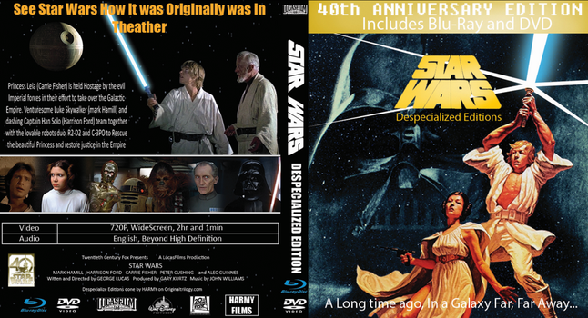Star Wars 1977 DSE Cover 40th Anniversary by EJLightning007arts