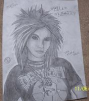 Bill Kaulitz TH by Stormy-Bear
