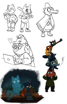 NITW - Requests 1 by LynxGriffin