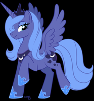 Princess Luna by nauticaldog