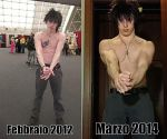 Gray Fullbuster Body Transformation by FrenicoProject
