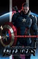 Video Game Avengers Captain Shepard Fan Art by rs2studios