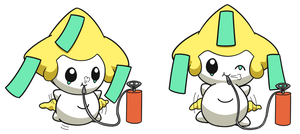 Jirachi Inflation 2 by selphy6