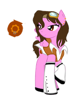 Steampunk Filly by ChelseaSnow