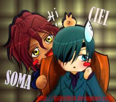 kuroshi: ciel and soma by hxhlxlhxh