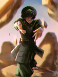 Toph by Roggles