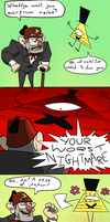 Gravity Falls Comic - Worst Nightmare by BynineB