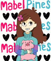 MABEL AND WADDLES 4 LYF by MonsutaPanda