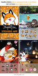 StupidFox Stickers App by SilentReaper