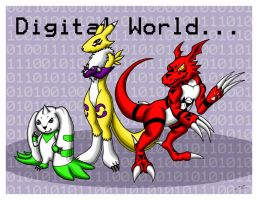 Digimon Third Season by MischievousPooka
