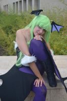 Morrigan Aensland Cosplay by Mirian