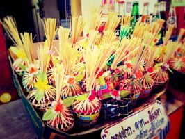 my trip to Thai traditional market by Zefiro0