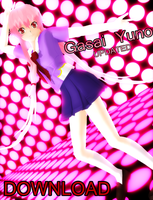 .: MMD - Gasai Yuno 11.7 UPDATED DOWNLOAD :. by Majikaru-Rin