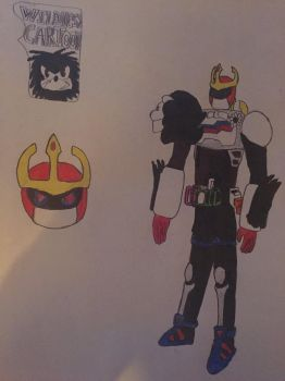 Kamen rider toon by the-creature-of-art