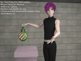 My First Poser Pro 2010 Render by ibr-remote