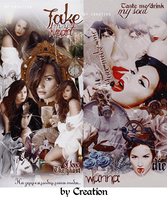 Demi Lovato project by byCreation